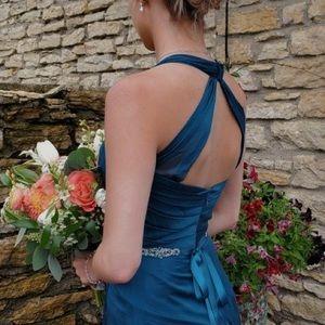 Jasmine Dresses - Teal bridesmaids dress